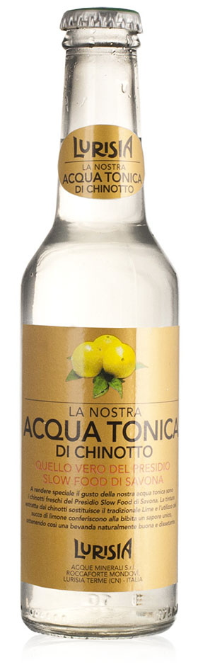 Acqua tonica di chinotto - Quenches thirst brilliantly