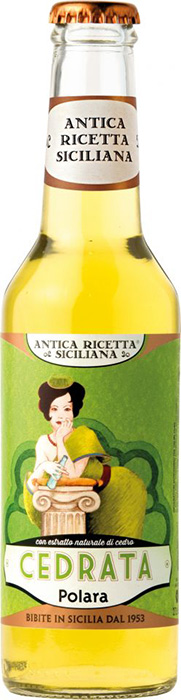 """Antica Ricetta Siciliana"" Cedrata - Antica Ricetta Siciliana Cedrata: a traditional drink with a fresh, slightly old-fashioned flavor"